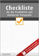 Checkliste für limitierte Edition in der Fotografie