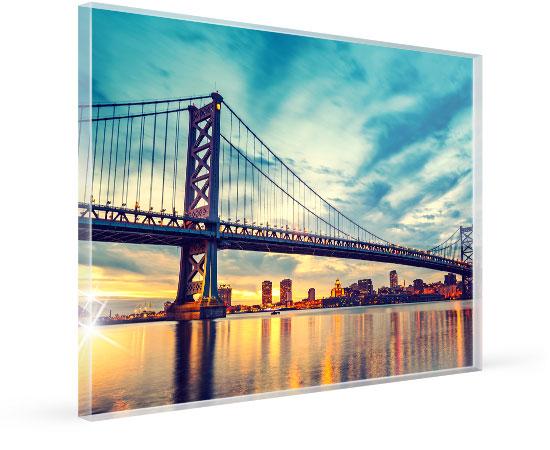 Foto auf Acrylglas mit polierten Kanten